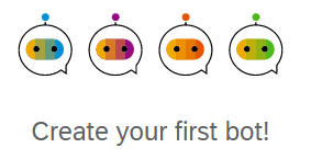 Chatbot create first bot